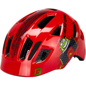 Cratoni Maxster Casque Enfant, truck/red gloss